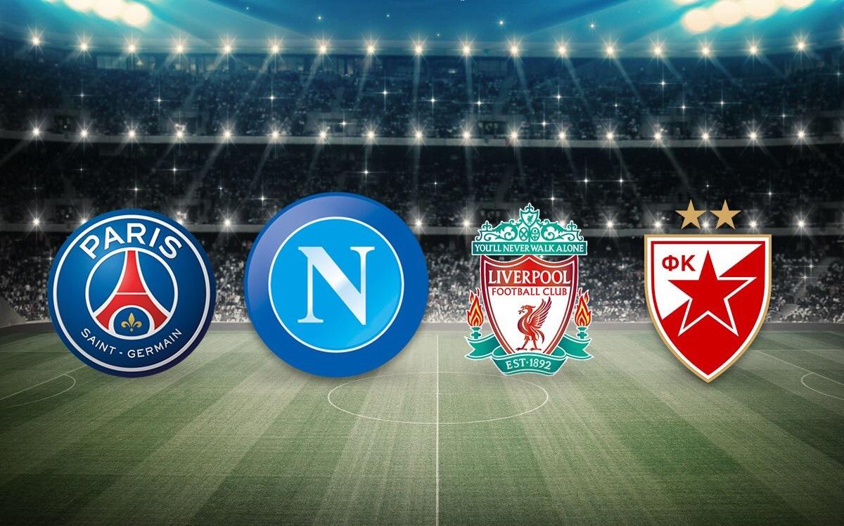 Champions League, gruppo C: il girone del Napoli