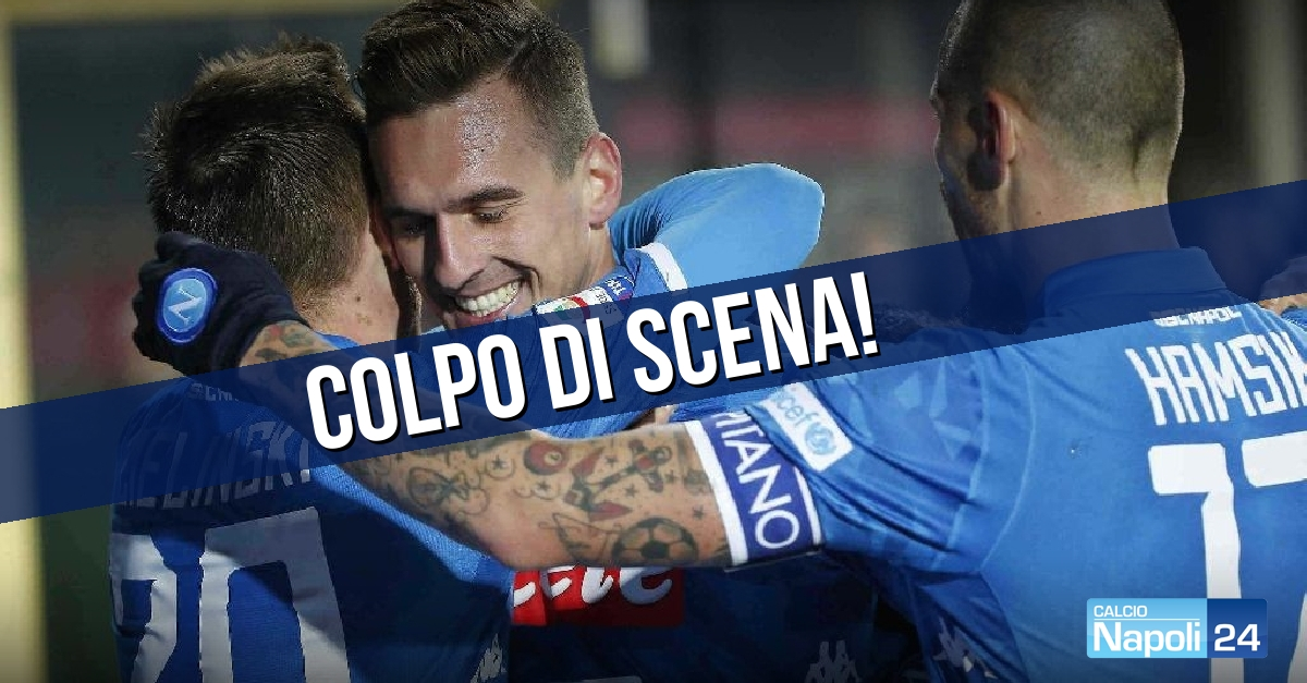 Calciomercato Napoli, Marek Hamsik-Cina