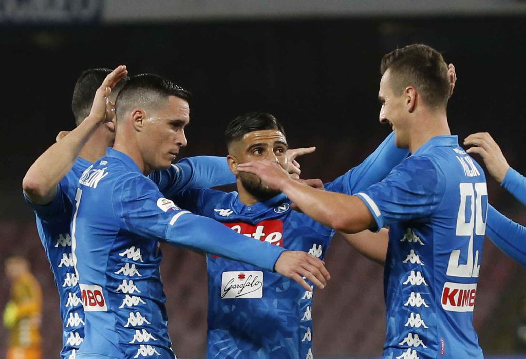 Sintesi Napoli-Sampdoria 3-0, higlights Napoli-Sampdoria