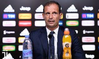 Massimiliano Allegri in conferenza stampa: foto sito ufficiale Juventus.com
