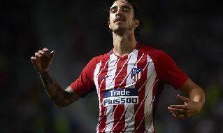 Sime Vsaljko in azione con la maglia dell'Atletico Madrid