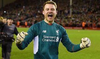Mignolet con la maglia del Liverpool