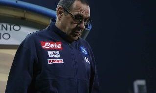 Maurizio Sarri, allenatore del Napoli