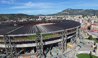 Stadio San Paolo, visione aerea