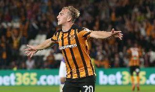 Jarrod Bowen all'Hull City
