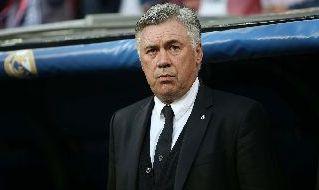Carlo Ancelotti sulla panchina del Real Madrid
