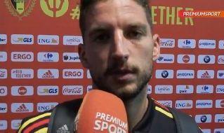 Dries Mertens  intervista Belgio - Portogallo