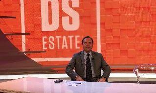 Il giornalista Rai Ciro Venerato alla Domenica Sportiva