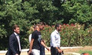 Fabian Ruiz a Villa Stuart, foto GianlucaDiMarzio.com