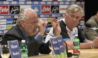 Aurelio De Laurentiis e Carlo Ancelotti