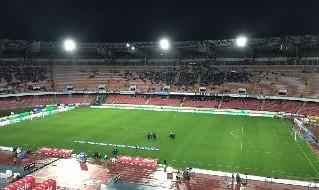 Stadio San Paolo semideserto