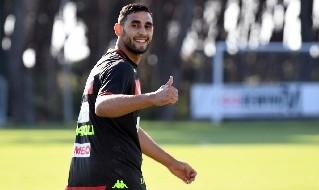 Faouzi Ghoulam in allenamento