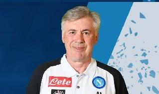 Ancelotti, allenatore del Napoli
