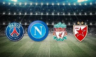 PSG, Napoli, Liverpool, Stella Rossa