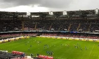Stadio San Paolo nuvoloso