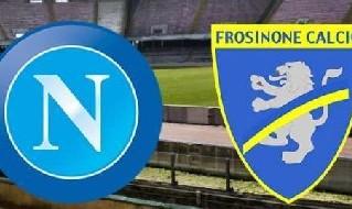 Napoli-Frosinone Streaming e Tv