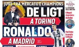 PRIMA PAGINA Corriere dello Sport - 17 dicembre 2018