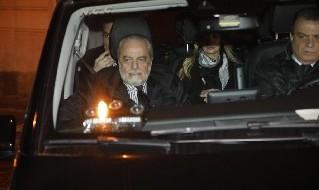 Aurelio De Laurentiis, presidente della SSC Napoli