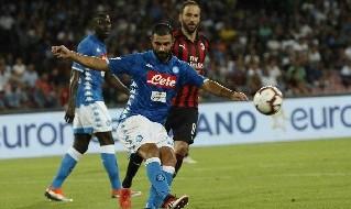 Gonzalo Higuain, attaccante argentino del Milan