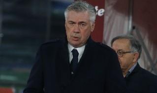 Carlo Ancelotti, allenatore della SSC Napoli