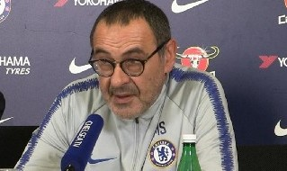 Maurizio Sarri, allenatore del Chelsea ed ex Napoli