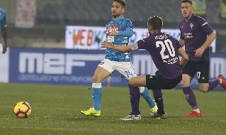 Dries Mertens, attaccante del Napoli