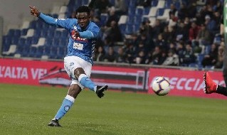 Amadou Diawara, centrocampista guineano del Napoli