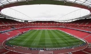 L'Emirates Stadium di Londra