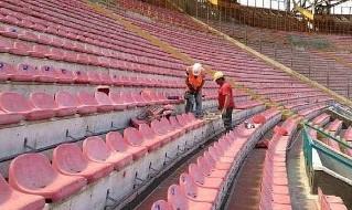 Sediolini stadio San Paolo