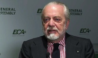 Aurelio De Laurentiis all'ECA