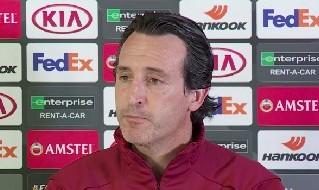 Unai Emery, allenatore dell'Arsenal