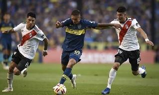 Agustin Almendra, centrocampista argentino del Boca Juniors