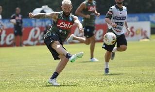 Lorenzo Tonelli, difensore della SSC Napoli