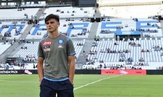 Eljif Elmas, centrocampista della SSC Napoli