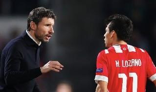 Lozano e Van Bommel col PSV