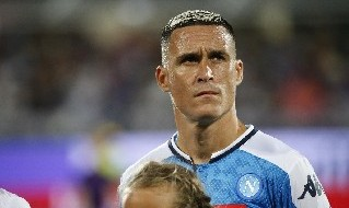 José Callejon, esterno offensivo spagnolo del Napoli