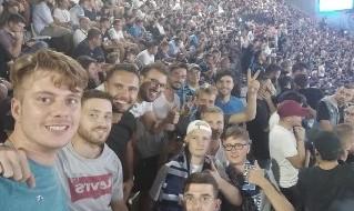 Tifosi tedeschi aggrediti Napoli-Liverpool
