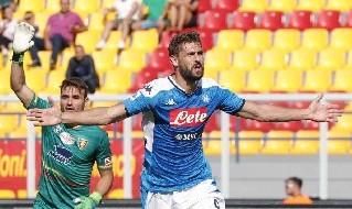 Fernand Llorente, attaccante della SSC Napoli