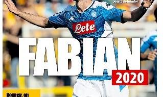 Fabián, centrocampista del Napoli