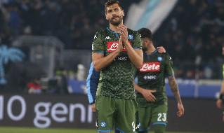 Fernando Llorente, attaccante spagnolo del Napoli