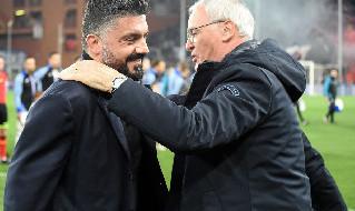 Formazioni Napoli Sampdoria