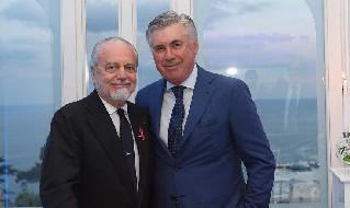 De Laurentiis e Ancelotti