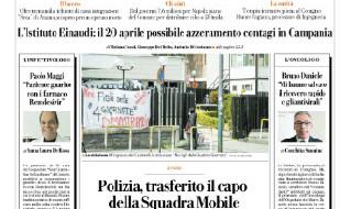 Repubblica, Prima pagina - 31 marzo 2020