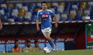 Hirving Lozano, attaccante messicano del Napoli