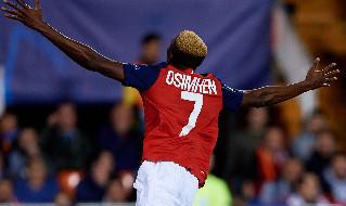 Victor Osimhen, attaccante del Lille e della nazionale nigeriana