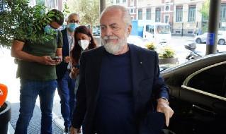 Aurelio De Laurentiis, presidente del Napoli