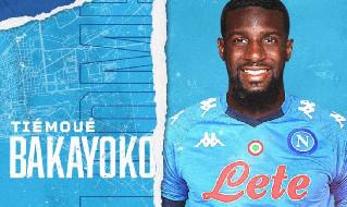 Tiémoué Bakayoko, centrocampista del Napoli in prestito dal Chelsea