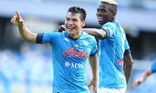 Statistiche primo tempo Napoli-Atalanta