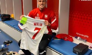 Arkadiusz Milik, attaccante polacco del Napoli
