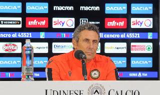 Udinese Napoli Gotti conferenza